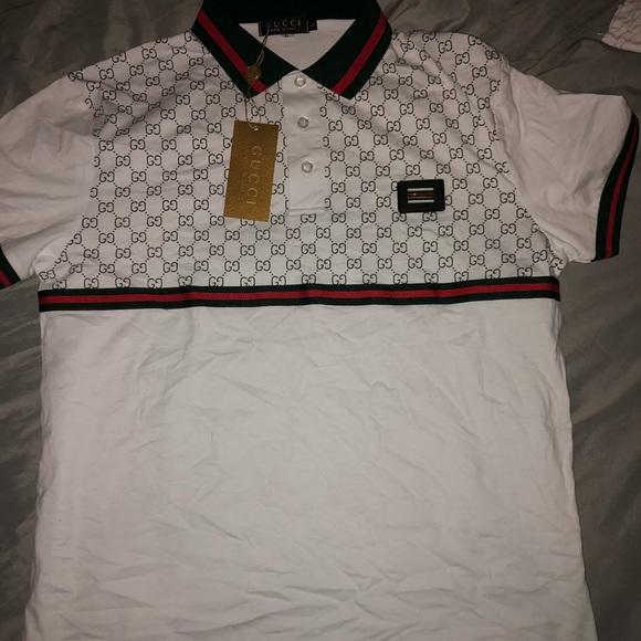 4cad1c3cadd0bc Gucci Shirts | Collar Shirt | Poshmark